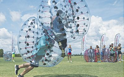 How to Properly Clean Bubble Soccer Balls