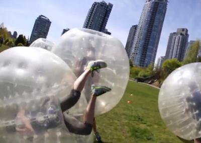 Bubble Soccer Flip